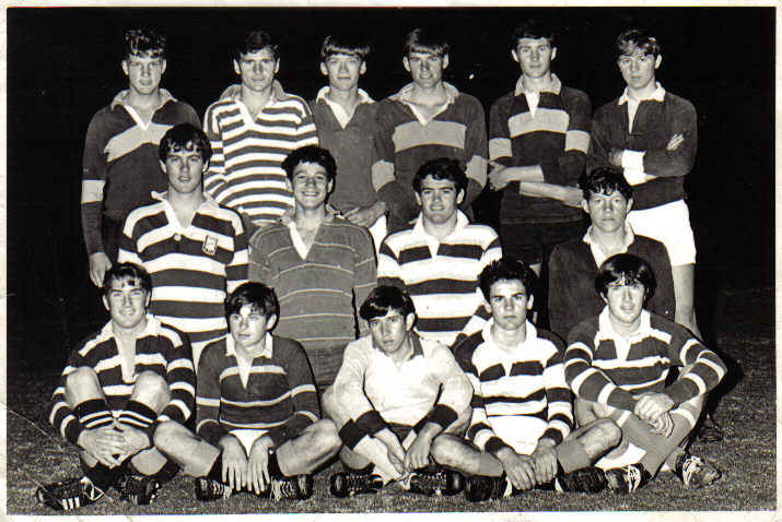 1968 Rugby Team.