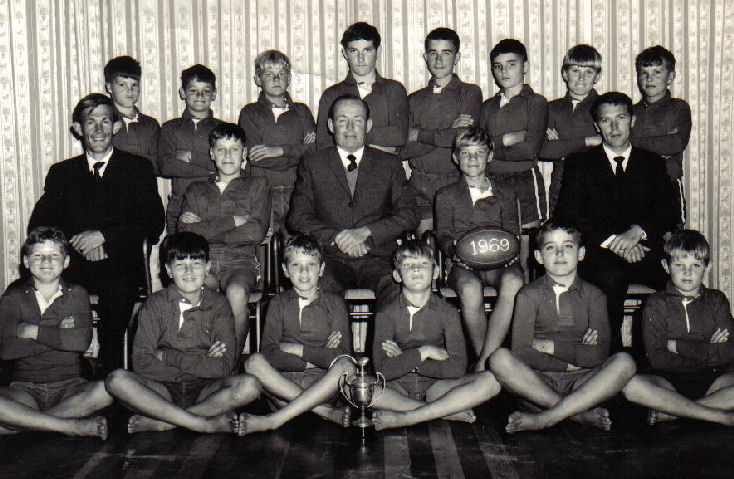 1969 Rugby Team
